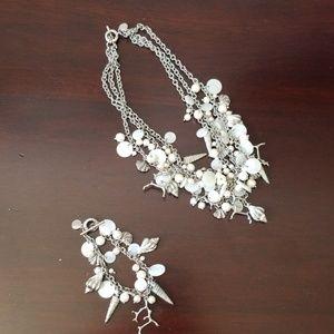 Statement Necklace! Seashell